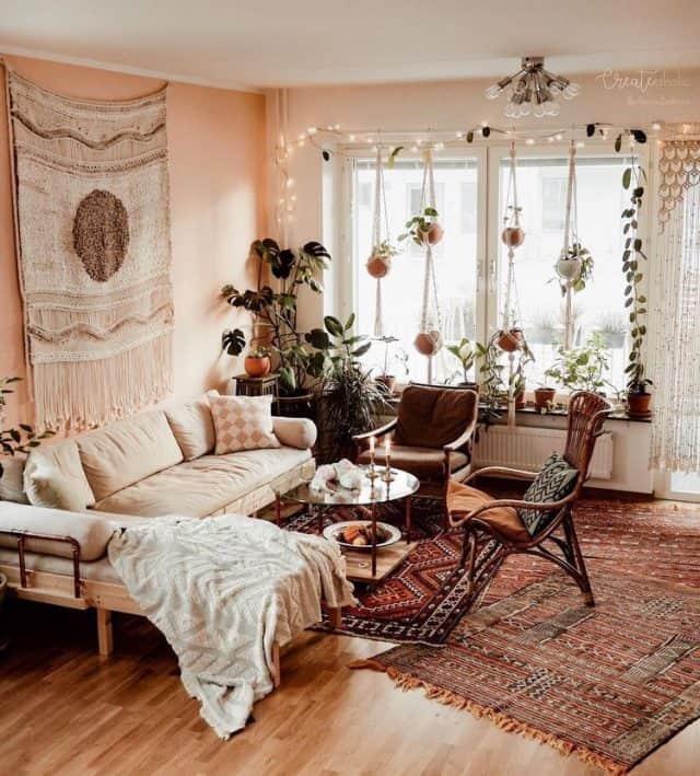 19 Super Cozy Boho Living Room Ideas You'll LOVE - Her ...
